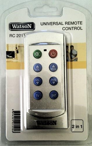 Универсальный пульт watson rc 2011 инструкция